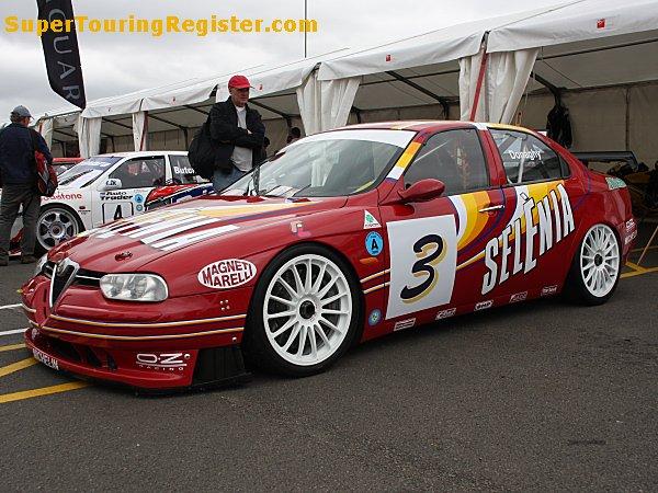 Alfa Romeo 156 Btcc Super Touring Car: Super Touring Register : Alfa Romeo 156 (SE071-006