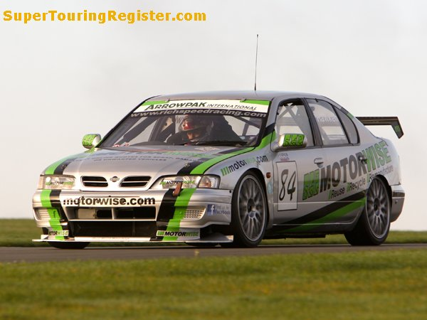 Richard Hawken @ Donington Park, Oct 2012