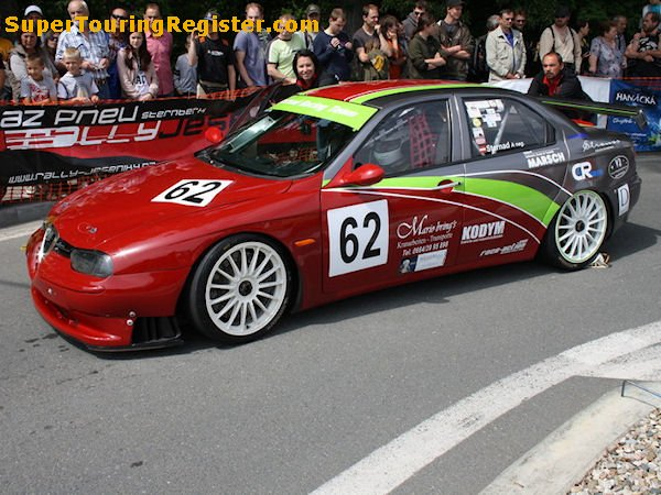 Alfa Romeo 156 Btcc Super Touring Car: Super Touring Register : Alfa Romeo 156 (SE071-003