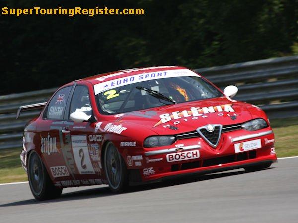 Alfa Romeo 156 Btcc Super Touring Car: Super Touring Register : Gallery