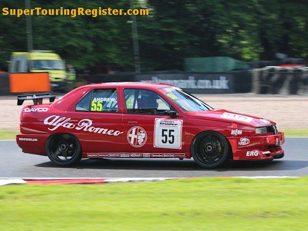 Alfa Romeo 156 Btcc Super Touring Car: Super Touring Register : Alfa Romeo 155