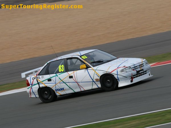 Andy Wolfe, Silverstone Classic 2014