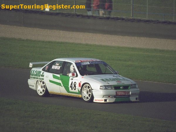 Nigel Bowen @ Donington, Oct 1999