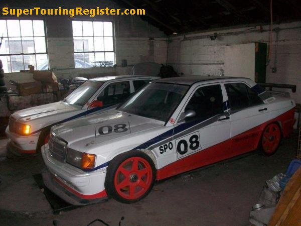 Super touring register mercedes benz 190e 39 01 39 for Mercedes benz touring car