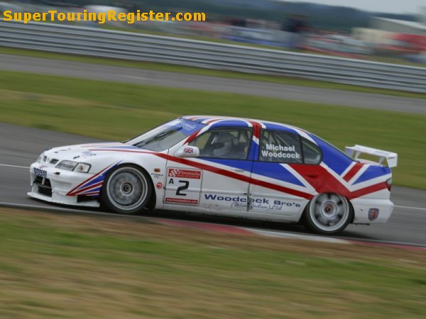 Michael Woodcock @ Snetterton, Jul 2004