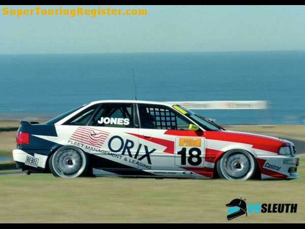 Super Touring Register 1995 Australian Super Touring