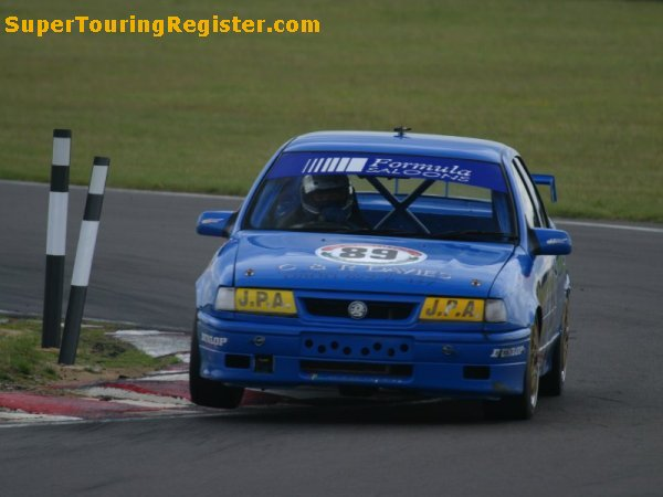 Jim Pocklington @ Snetterton, Jul 2004