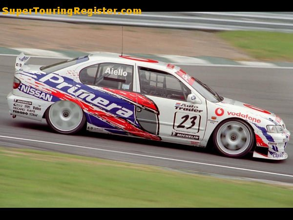 Laurent Aiello @ Brands Hatch, 1999