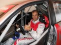Emanuele Pirro inspects the newly rebuilt car, Franciacorta  2012